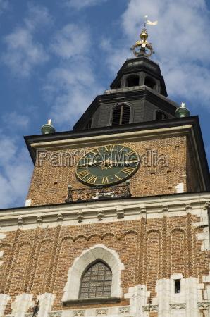 town hall tower ratusz main market
