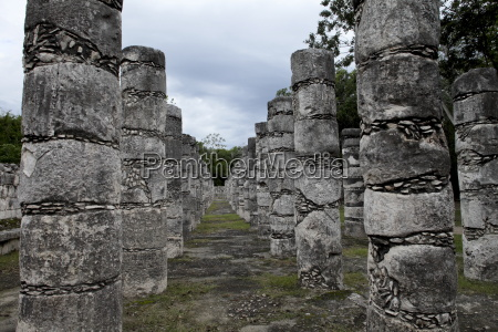 fahrt reisen stein saeulen horizontal ruin