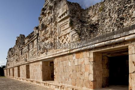 nunnery quadrangle uxmal unesco world heritage