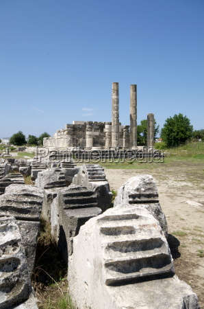 the temple of leto at the