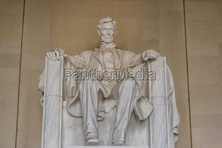 interior view of the lincoln statue