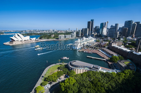 blick ueber sydney new south wales