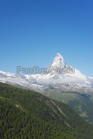 the matterhorn 4478m zermatt valais swiss