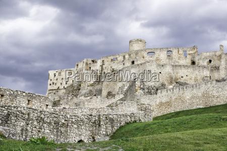 stein slowakei europa mauer horizontal ruin