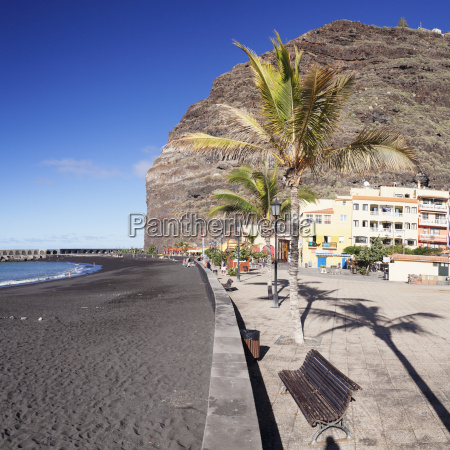beach of puerto de tazacorte la