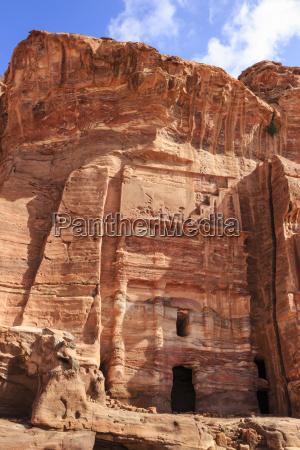 silk tomb royal tombs petra unesco