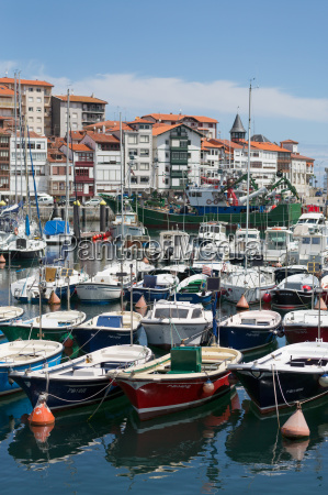 traditional fishing boats moored in the