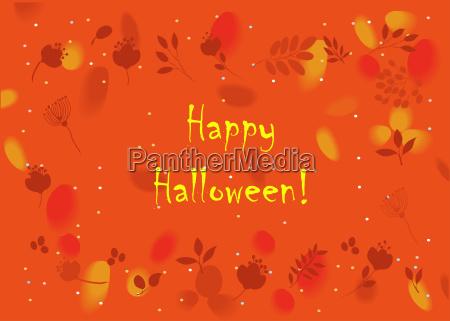 blume blumen pflanze halloween orangefarben orange