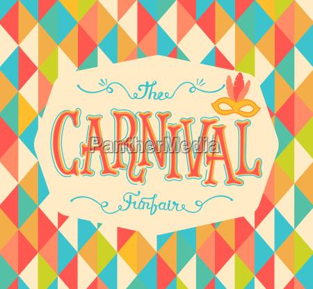 karneval kirmes hintergrund