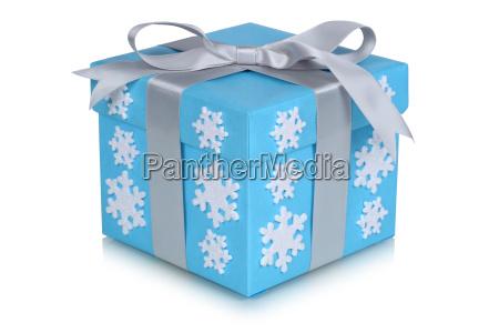 christmas gift christmas snow snowflakes winter