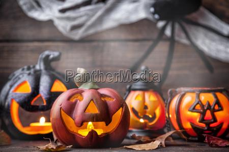 traditionelle furchtsame halloween urlaub hintergrund