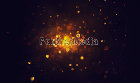bokeh shiny abstract background