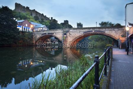 framwellgate bridge over the river wear