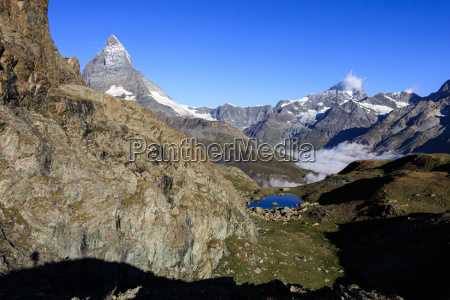 matterhorn and dent blanche and the
