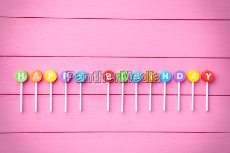 bunte happy birthday hintergrund