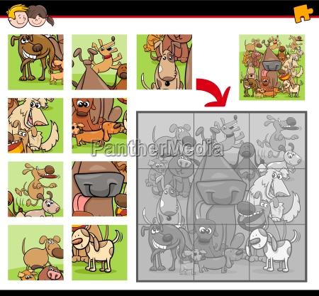 puzzles mit hunden