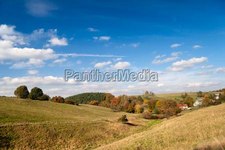 landscape near hummelshain