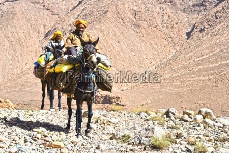 berber sind indigenen zu atlas gebirge