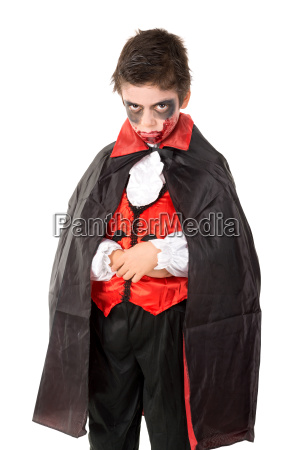 kid in halloween kostuem