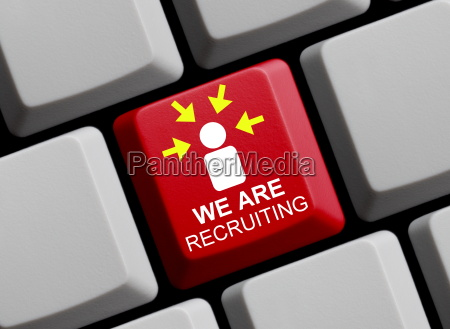 we are recruiting online