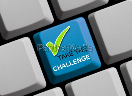 take the challenge online