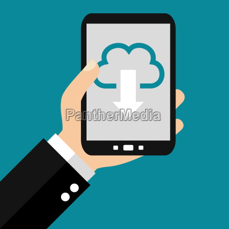 cloud download mit dem smartphone