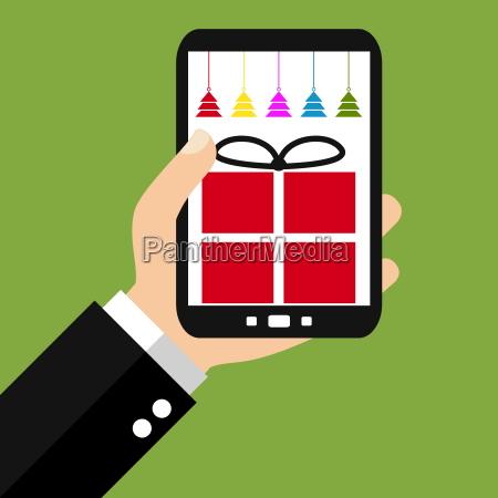 weihnachtsgeschenke mit dem smartphone kaufen