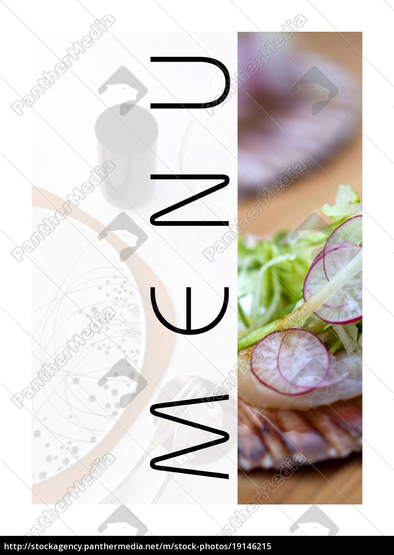 ein, restaurant-menü - 19146215
