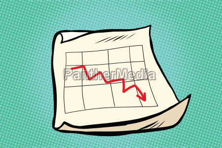 the fall schedule income sales arrow
