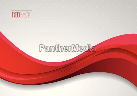 wellenfoermiger roter und weisser vektorzusammenfassungshintergrund ideal