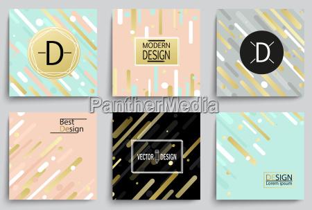set of elegant banner templates