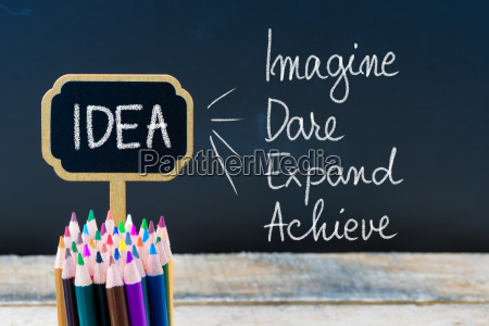 business akronym idea stellen dare expand