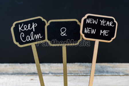 keep calm and new year new