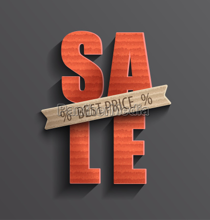 sale with best price banner