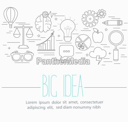 business big idea symbols
