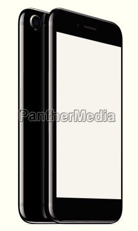vector mock up phone front and