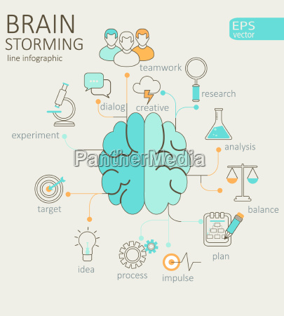 concept of left and right brain