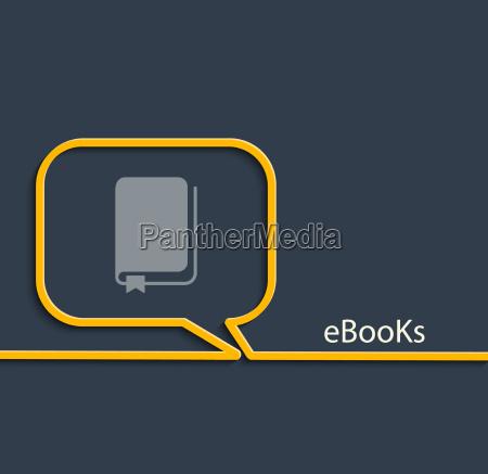 ebook vector illustration