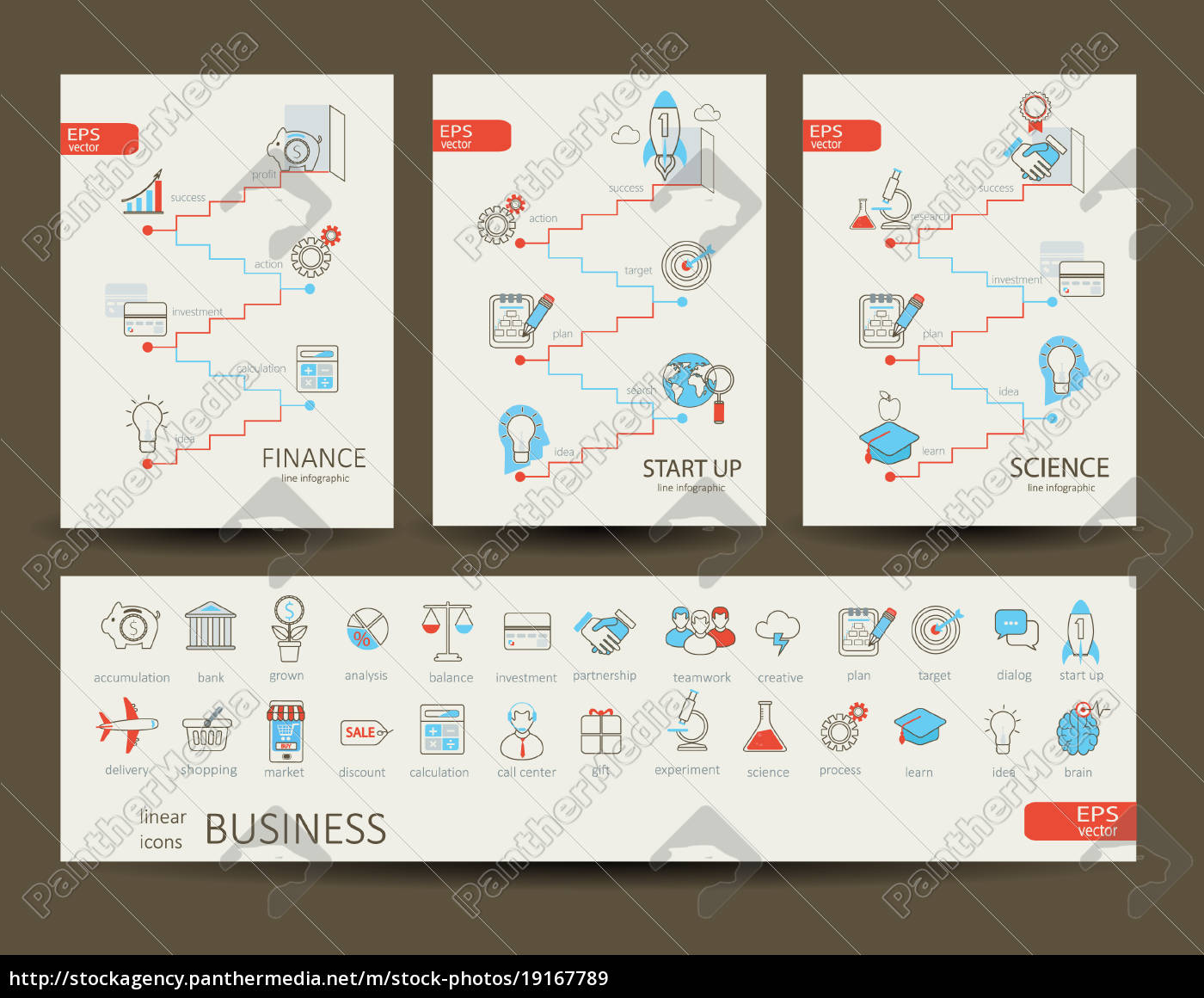 infographics, of, finance, , science, , startup, , business. - 19167789