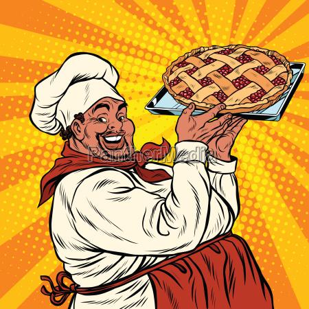 afroamerikaner oder latino kochen mit einem