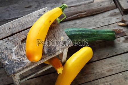 zucchini und squash