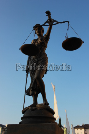 justitia is a personification of justice