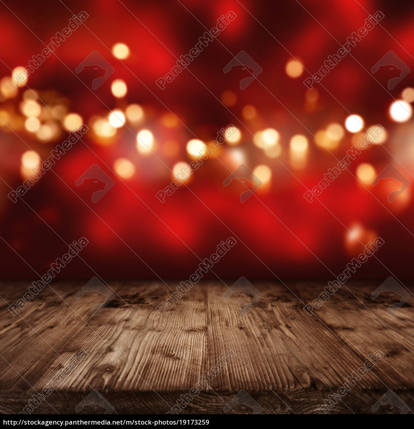 red, background, with, golden, lights - 19173259