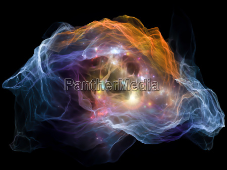 glow of mind particle