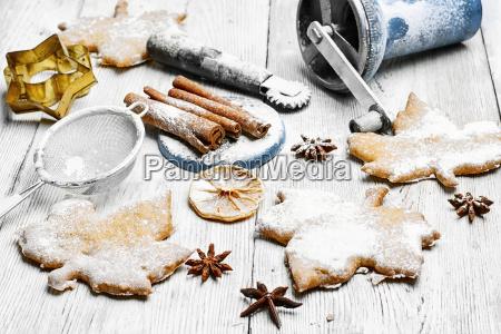 selbst gemachte kuchen fuer weihnachten