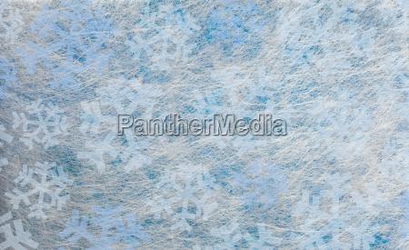 mehrere blaue schneeflocken hintergrund