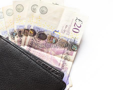 geld im vereinigten koenigreich britische 20