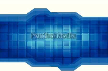 vector abstract technology background with polygonal