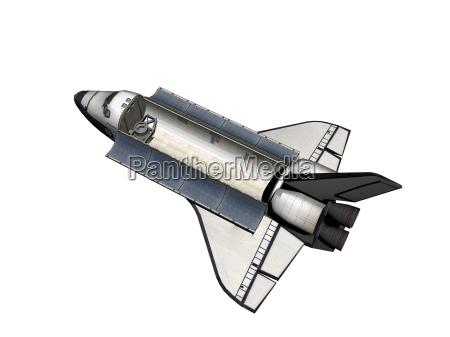 space shuttle freigestellt
