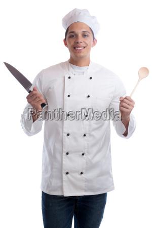 koch jung azubi ausbildung auszubildender kochen
